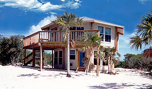 Prefab post beam houses timber frame homes hurricane for Cost to build small beach house
