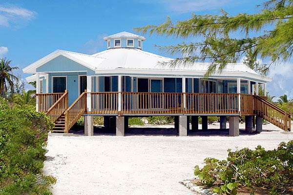 Save up to 35 import duty in exuma bahamas if you build for Hurricane proof beach house plans