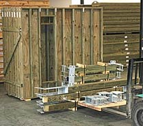 Prefabricated house building materials by Topsider
