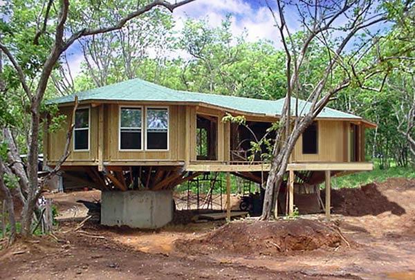 Topsider Double Pedestal House Virgin Islands