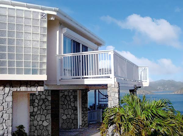 Two-Story Topsider Home Built On St.John Virgin Islands