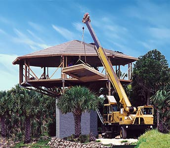 Elevated Home Coastal Pedestal House Construction By Topsider