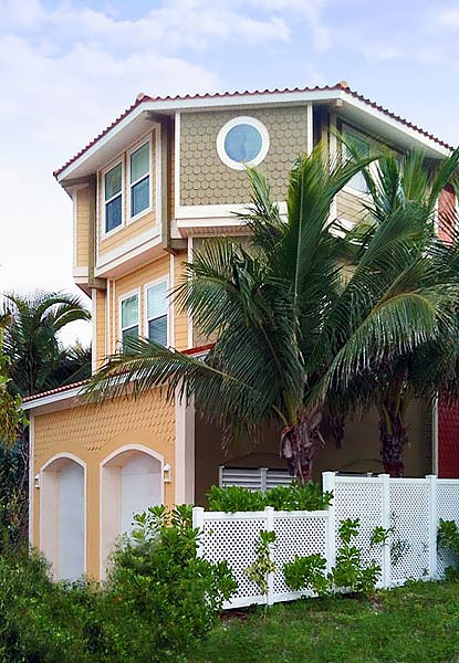 Elevated Home Two Story Garage Coastal House Design By Topsider