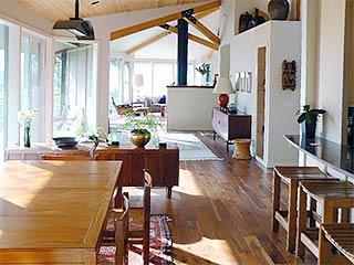 Contemporary Homes Interior Floor-to-Ceiling Window Design