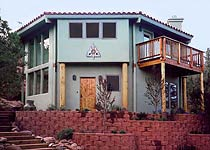 Two Story Octagonal Topsider Home