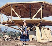 Prefabricated House Kits Under Construction Overseas