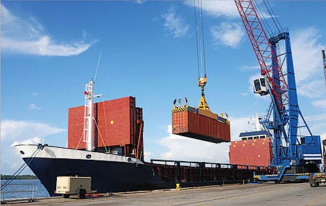 Prefabricated House Kits Container Ship Export