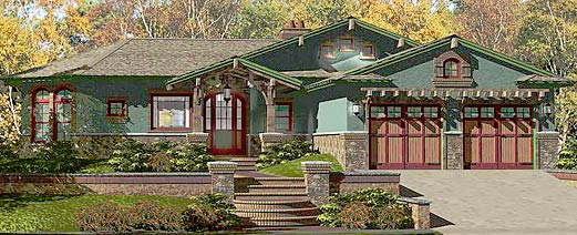 Unique Craftsman Style Residential Homes by Topsider