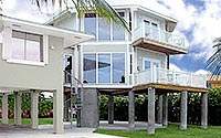 Modular home modular home on pilings for Modular homes on pilings