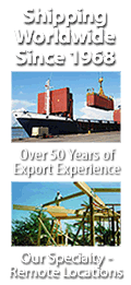 Shipping & Exporting Homes to  Remote Locations Worldwide For Over 40 Years