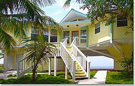 Combination Pedestal And Two Story Design. Cat Cay, Bahamas