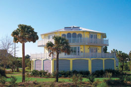 Beachfront Topsider Home on pilings