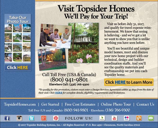 Topsider Homes January 2017 eNewsletter