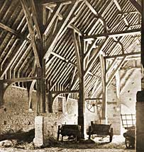 Some of the oldest and strongest timber-frame buildings still standing are Post and Beam