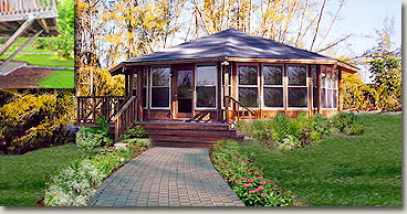 Small prefab houses small house plans guest house plans for Guest house models