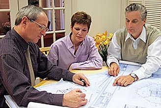 Meet with Topsider Homes' Professional Design Team and Project Managers